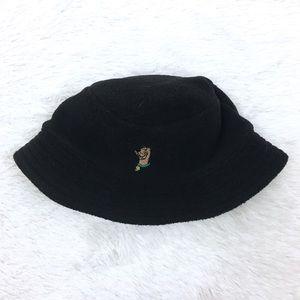 Scooby Doo Black Fleece Bucket Hat